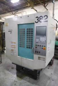 2011 Brother Tc s2d 4 Axis Cnc Drilling Tapping Center 19 7 X 15 76 X 11 82