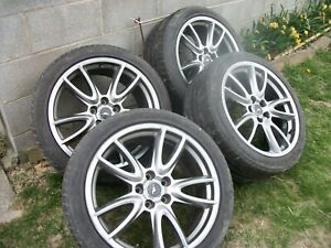 Set Of 4 Mustang 19 Brembo Rims Wheels 5x4 5