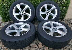 Jaguar F Pace Oem Factory 19 Wheels Rims Silver F pace 19 Tires 255 55 19