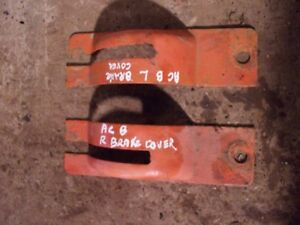 Allis Chalmers B Tractor Ac Right Left Hand Side Brake Cover Covers