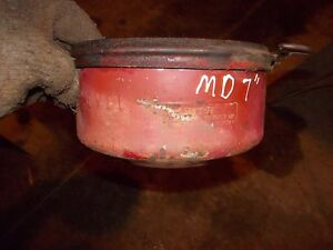 Farmall M Diesel Md Tractor Ih Oil Bath Precleaner Assembly Bott Oil Bowl Ring