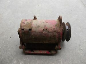 International Ih Farmall Tractor Working 12v Generator Belt Drive Pulley