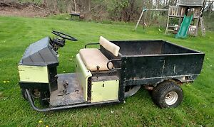 Cushman Truckster Utv Utility Vehicle Golf Cart 1990 Onan Gas Gator Cub Cadet