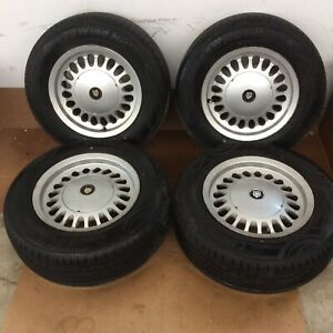 86 87 88 89 90 91 92 93 94 Jaguar Xj6 Xj8 Xj40 15 Wheels Tires Clean Set Oem
