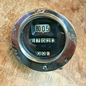 Vintage 1920s Ac Sparkplug Co Speedometer Perfect For Hot Rod Model A Roadster