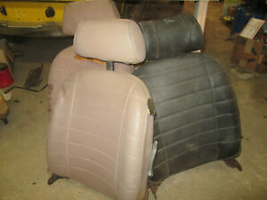 Mgb Passenger Seat Back With Head Rest