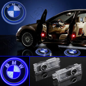 Led Door Light Logo Projector Courtesy Welcome Step Ghost For Bmw 4pcs