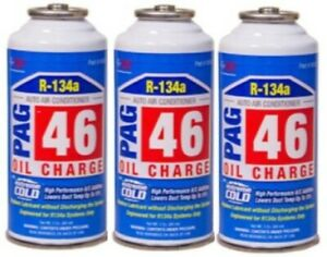 Pack Of 3 Fjc 9242 Pag 46 3 Ounce Oil Charge With Extreme Cold Additive
