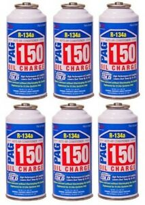 Pack Of 6 R134a Pag 150 High Viscosity Oil Charge With Extreme Cold Additive