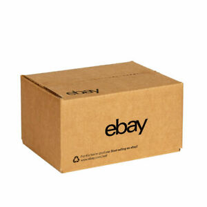 Official Ebay branded Boxes W Black Color Logo 6 X 4 X 4 New Edition