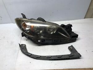 2004 2005 2006 Mazda 3 Speed 3 Headlight Xenon Assembly Passenger Rh 04 06