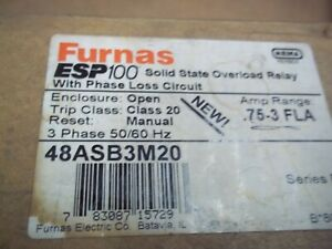 Furnas Overload Relay 48asb3m20