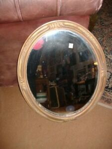 Oval Wall Mirror Vintage Antique Sh4