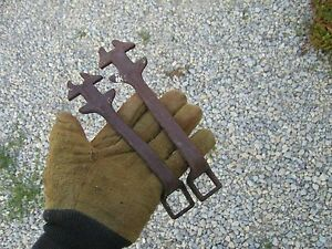 Farmall Tractor Implement 2 Vintage Ih Mccormick Wrenches Wrench Ihc