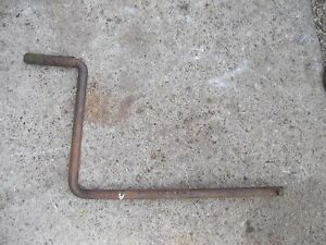 Farmall A Sa B C Sc Bn Tractor Original Ih Hand Engine Crank W Spinner Handle