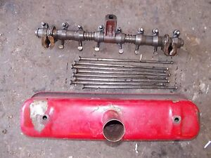 Farmall B C A Bn Tractor Ih Ihc Engine Motor Push Rods Rocker Arm Assembly