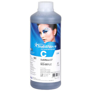 Inktec Sublimation Ink sublinova Rapid cyan 1liter