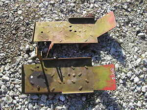 Farmall 340 Utility Tractor Pair Of Original Ih Platform Sets
