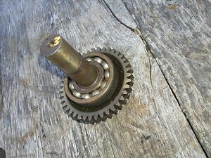 Farmall M Sm Mv Tractor Ih Hydraulic Belly Pump Drive Gear Assembly
