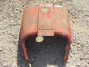 International 460 Utility Tractor Nice Original Front Hood Cover Panel Over Tank