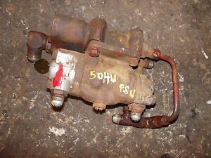 Farmall 504 Utility Tractor Good Working Ih Ihc Hydraulic Control Valve Assembly