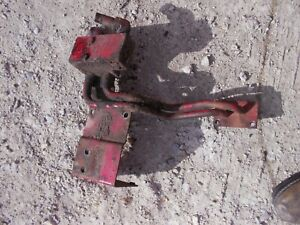 Farmall 400 450 Rc Tractor Ih Front Steel Hydraulic Lines Block Ports