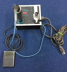 Optical Lab Soldering Tig Type Machine Foot Pedal Carbon Rod Hilco