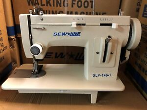 Sewline New 146 7 Portable Walking Foot Zig Zag Industrial Sewing Machine