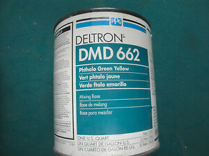 Dmd 662 Phthalo Green Yellow Ppg Deltron Universal Mixing Base Vintage Dbu Dbc