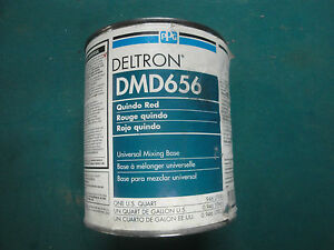 Dmd 656 Quindo Red Ppg Deltron 2000 Universal Mixing Base Vintage Dbu Dbc