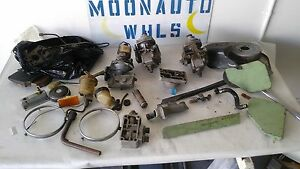 Sunbeam Alpine V Stromberg Zenith Cd150 Carburetors Fuel Pump Extras