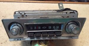 1960 s Chevrolet Corvair Radio Delco Vintage Rare Knobs And Faceplate