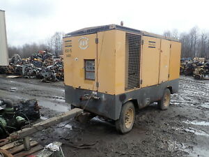 2001 Atlas Copco Xams850 850 Cfm Air Compressor Cat Dsl Video Xams 850 125 Psi
