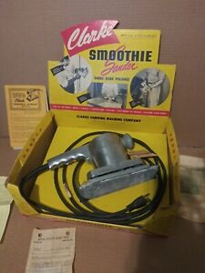 Clarke Sander Smoothie 1959 With Display Box Paperwork Clarke Sander