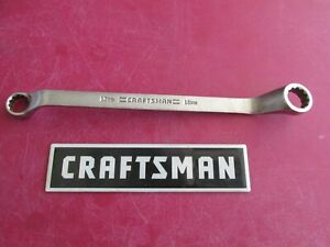 Vintage Craftsman 13mm X 15mm Box End Wrench 12 Point Made In Usa Va 44327