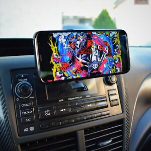 Universal 360 Magnetic Car Dash Cd Mount Holder Cradle For Mobile Cell Phone Gps
