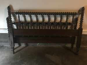 Antique Jenny Lind Double Bed For Repair Or Parts