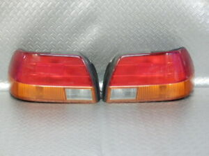 Jdm 1997 Toyota Corolla Ae110 Sedan Taillights Tail Lights Lamps Set Oem