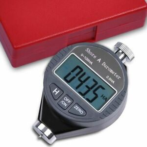 Digital Lcd Shore A Durometer Hardness Tester 100ha Tire Rubber Meter Gauage box