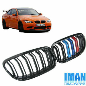 3 Color M3 Style Front Kidney Grille For Bmw Grill E90 323i 328i 335i 2009 2011