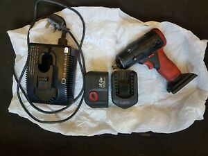 Snap On 1 2 Gun 14 4 V With Charger And 2 Batteries