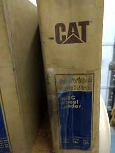 Caterpillar Cat 966c Wheel Loader Service Shop Repair Manual Reg00484