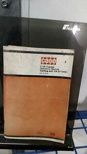 Case 1175 Tractor Operator s Manual Starting With S n 8712001