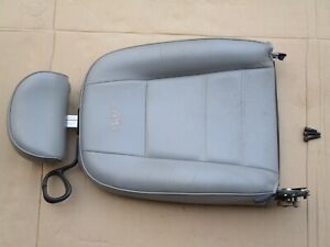99 04 Mustang Convertible Gray Leather Passenger Seat Top Oem