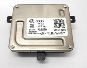Delphi Led Modul Unit Ecu Ballast Vw Audi Tfl 4g0907697h Original