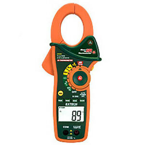 Extech Ex840 Trms Ac dc Clamp dmm Ir Thermometer 1000v 1000a Cat Iv
