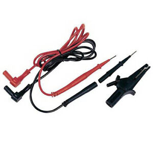 Ideal Electrical Tl 770 Test Leads W large Alligator Clips