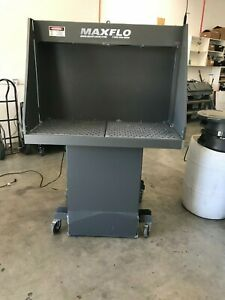 Max fb2x4 Portable Fume Paint Welding Booth With Free Accessories 48 x24