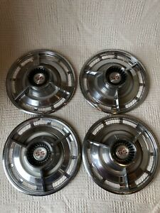 Vintage 1964 Chevrolet Chevy Impala Ss Spinner Hubcaps 64 Chevy Hubcaps