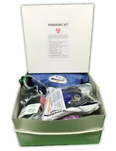 Pandemic Protection Kit With Half face Cbrn Respirator Rubber Boots Kleenguard